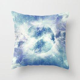 Universe Atoms Stories Throw Pillow