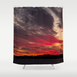 BEDOUIN SUNSET Shower Curtain