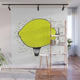 Lemon zeppelin Wall Mural