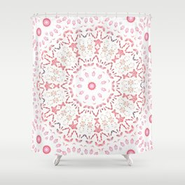 Love Eternal Pink Shower Curtain