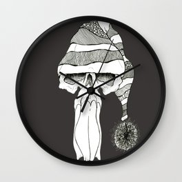 Skullz 06 Wall Clock