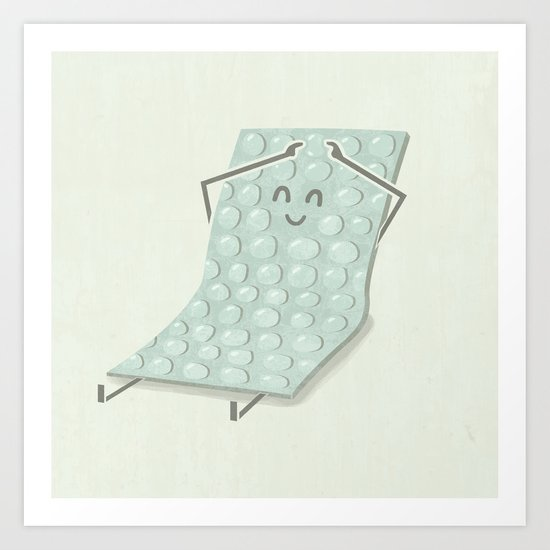 Popping Bubbles Art Print