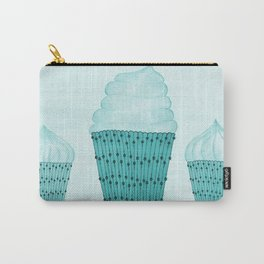 Iced Cupcakes  Carry-All Pouch