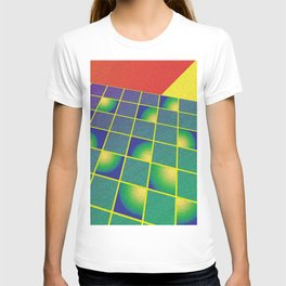 Retro style perspective T-shirt