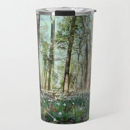 Snowdrop Wood (2) Travel Mug