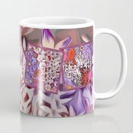 Distinctive Tropical Flower Garden Collage Coffee Mug