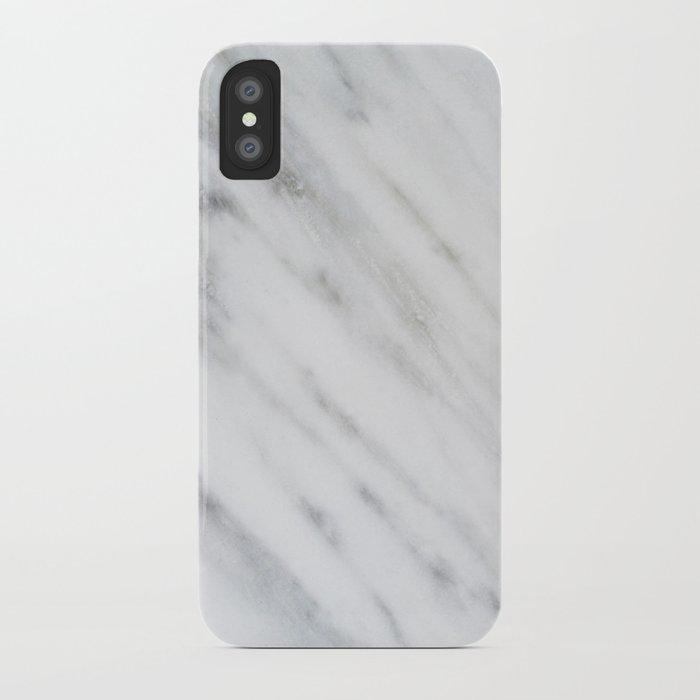 Carrara Italian Marble iPhone Case