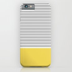 MINIMAL Green Stripes iPhone 6 Slim Case