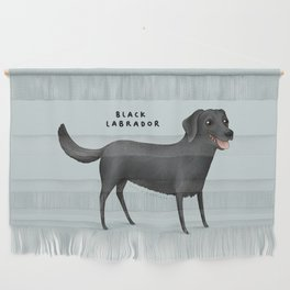 Black Labrador Wall Hanging