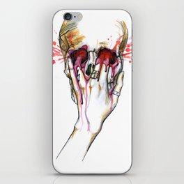 Fire Meet Gasoline iPhone Skin