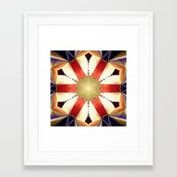 shield Framed Art Prints featuring Shield by Deborah Benoit