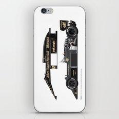 Ayrton Senna, Lotus 98T-Renault, 1986 iPhone & iPod Skin