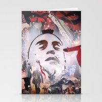 taxi driver Stationery Cards featuring TAXI DRIVER by John McGlynn