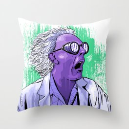 The Doc Throw Pillow