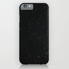 Hubble Space Telescope - Ground-Based View of J2150−0551 Region iPhone Case
