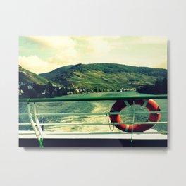 Ship life Metal Print