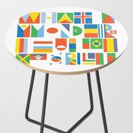 What A Wonderful World II Side Table
