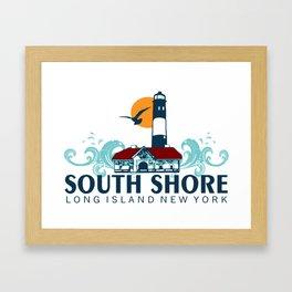 South Shore - Long Island. Framed Art Print