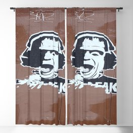 Frankenstein Freak Blackout Curtain
