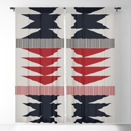 American Native Pattern No. 212 Blackout Curtain