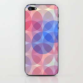 Cotton candy flavour iPhone Skin