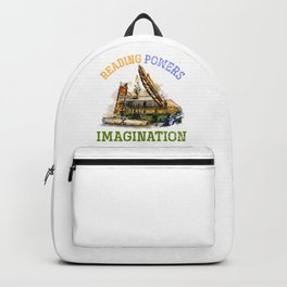 Reading Powers Imagination Backpack