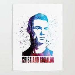 Ronaldo #Ronaldo art Poster
