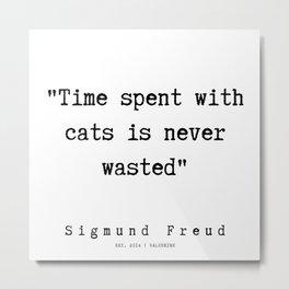 20 |   Sigmund Freud Quotes | 190926 Metal Print