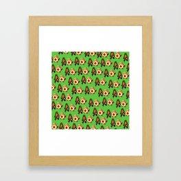 Avocados at law Framed Art Print