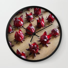 ALL IN LINE Wall Clock