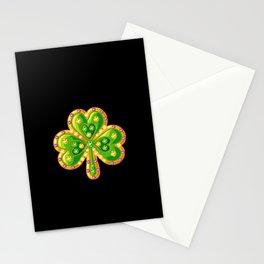Jewelry shamrock Stationery Cards