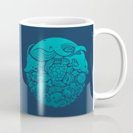 Aquatic Spectrum Coffee Mug