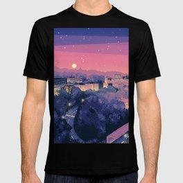 Pixel City 3 T-shirt