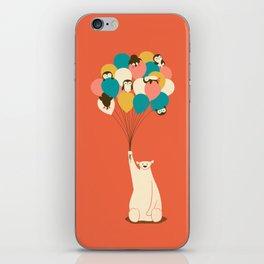 Penguin Bouquet iPhone Skin