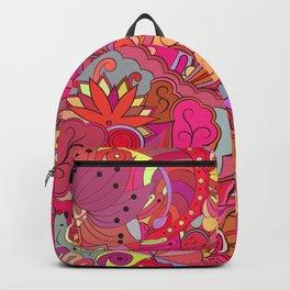 Pink abtactin Backpack