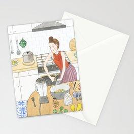 Kitchen Improvisation Stationery Cards