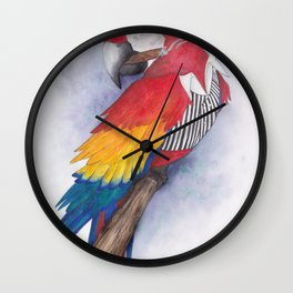 What If...?? Parrots were Gangsters! Wall Clock