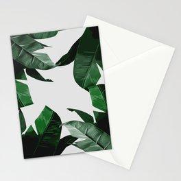 Banana Palm Leaves Stationery Cards