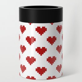 Love Pattern Can Cooler