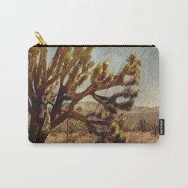 Joshua tree in Mojave desert Carry-All Pouch