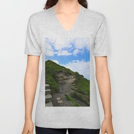 Irish Path to the Sky Unisex V-Neck