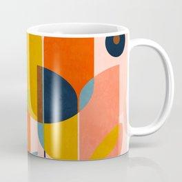 floral shapes III Coffee Mug