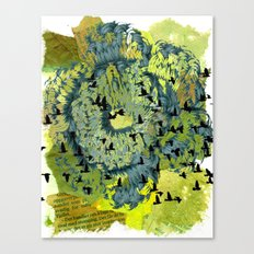 Returning Canvas Print