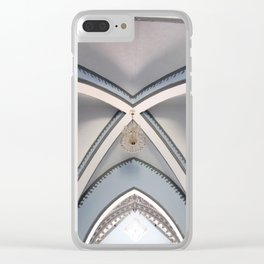 Basilica of Our Lady of El Valle - Ceiling Clear iPhone Case