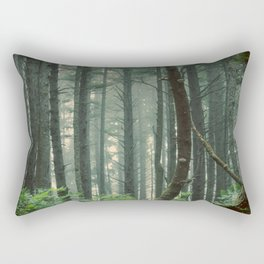 There Are Stories In The Woods Rectangular Pillow