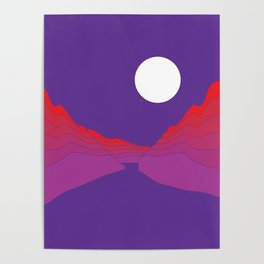 Amethyst Ravine Poster