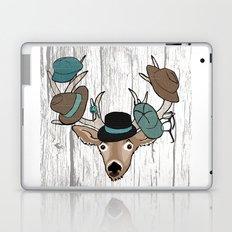 Deer Hat Rack Laptop & iPad Skin