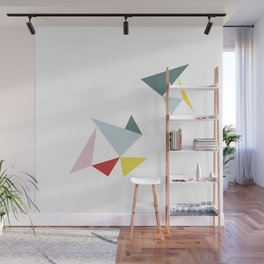 Triangles in the Sky Wall Mural