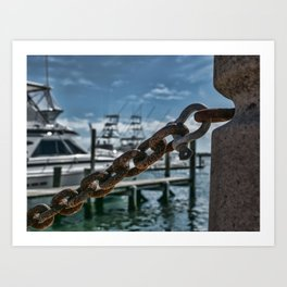 Rust And Water Art Print