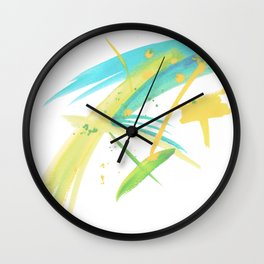 Colour Splash Wall Clock